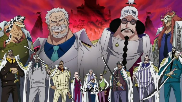 Real Power Of The New Admiral Greenbull In One Piece