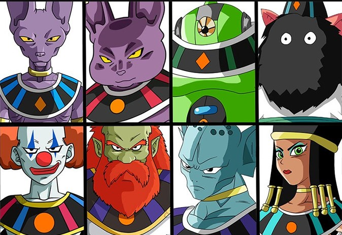 Weakest To Strongest Gods Of Destruction In Dragon Ball Super