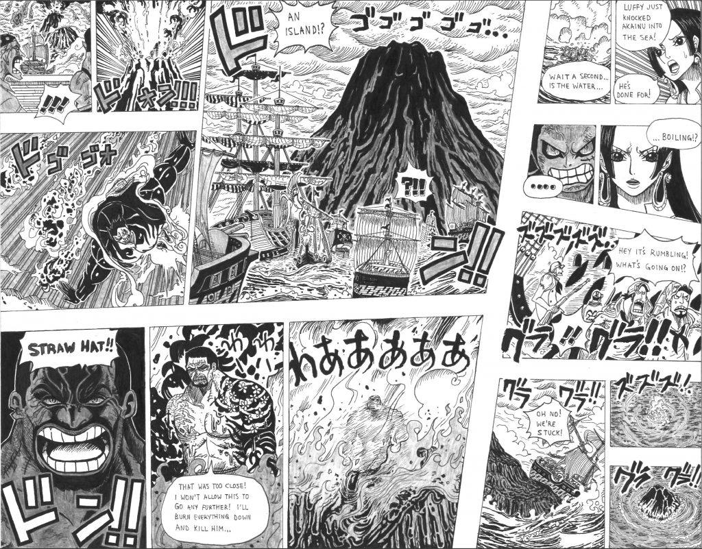 Luffy Vs Akainu One Piece Chapter 1100 Fan Manga - OtakuAni